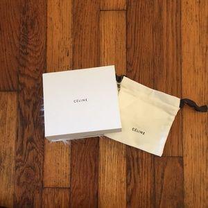 Celine Other - CÉLINE Faux Fur Box